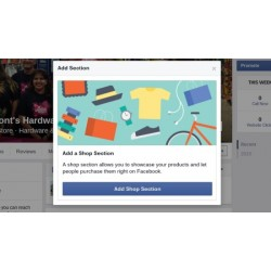 How to create Facebook Shop Page