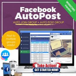 KITFB : FaceBook AutoPost (Desktop Version)