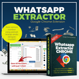Whatsapp Contact Extractor
