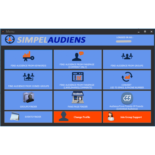 SIMPLE AUDIENS - FB Leads Extractor