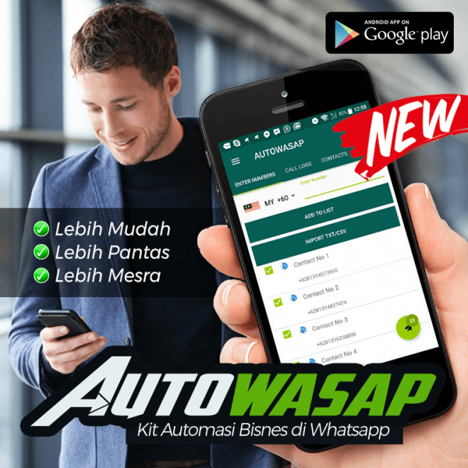AUTOWASAP - Kit Automasi Whatsapp