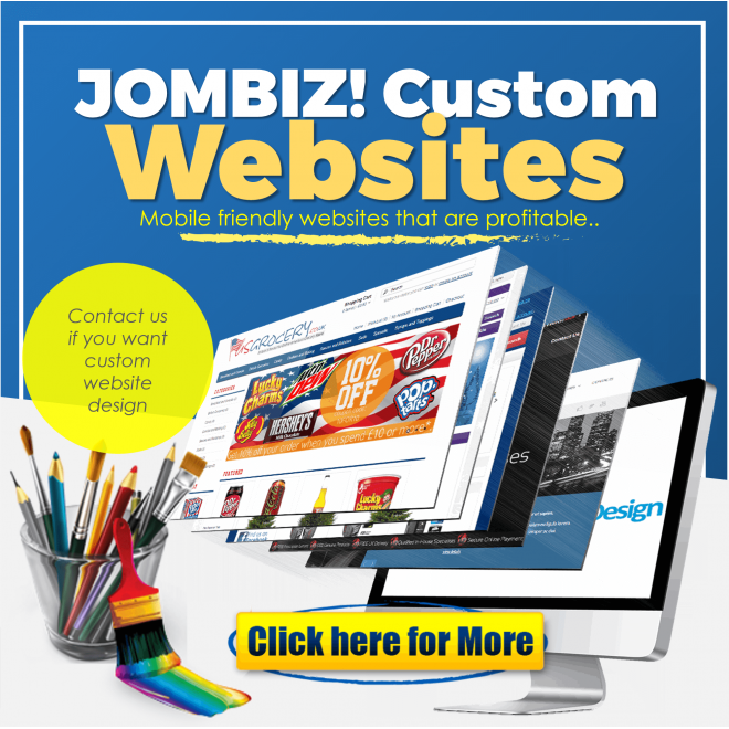 JomBiz! Custom Website