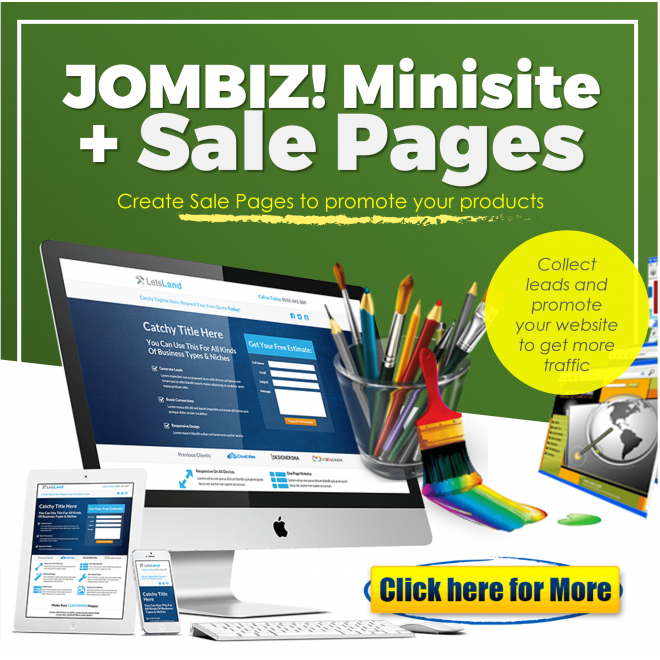 Sales Page and Minisites