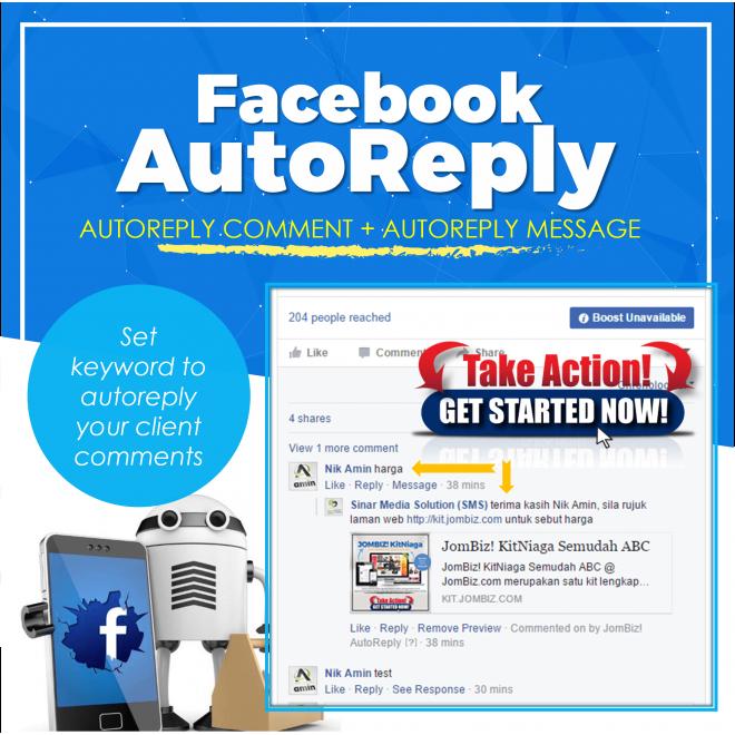 JomBiz! Facebook AutoReply Comment