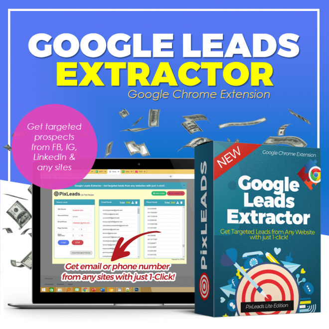 pixleads google leads extractor