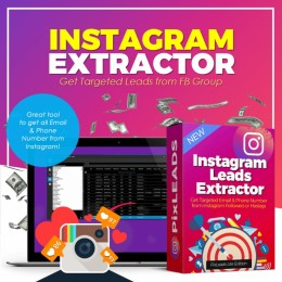 INSTAGRAM EXTRACTOR - Get Email and Numbers from Instagram Follower and Hastags