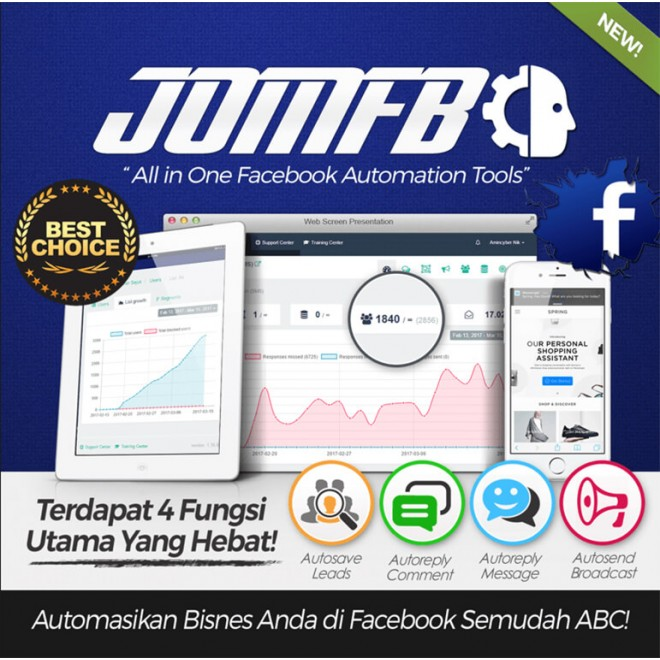 JOMFB | Facebook Automation Tools