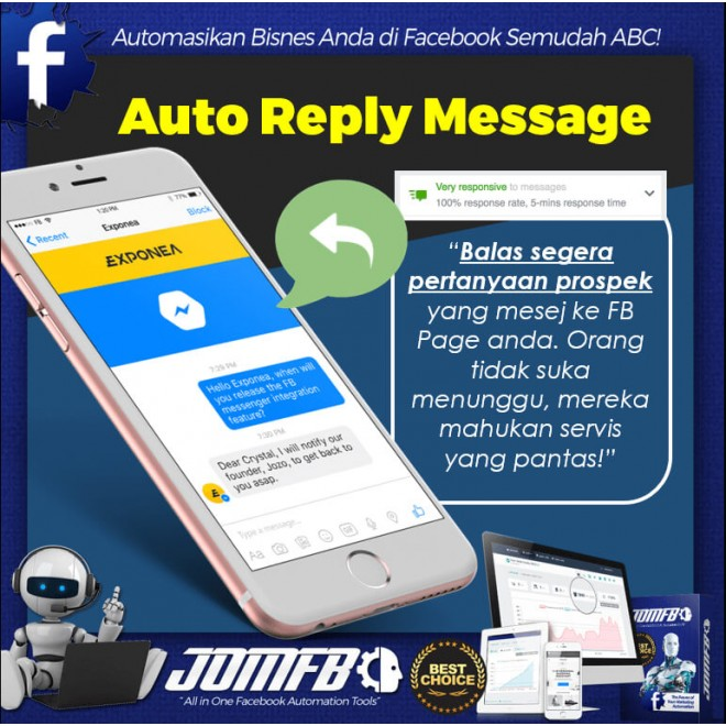 JOMFB | Facebook Automation Tools